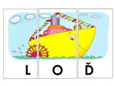 Čtení - Sisa Stipa - Picasa Web Albums Stipa, Child Development, First Grade, Spelling, Montessori, Puzzles, Transportation, Alphabet, Homeschool