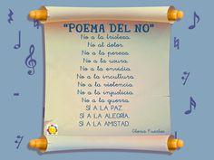 Poema del NO, de Gloria Fuertes