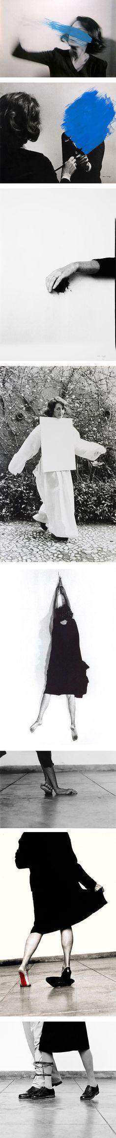 Artist of the week: Helena Almeida on Nuji.com #helenaalmeida #artist #photography