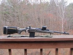 Ruger Gunsite Scout with Leupold VX 2x10 scope