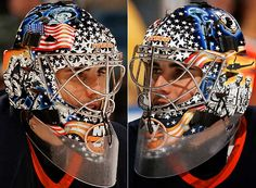 Rick DiPietro NY Islanders  SI.com - Photo Gallery - NHL Goalie Masks