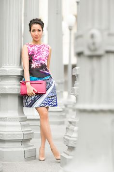 Painting Pictures :: Printed dress