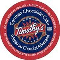 Timothy's GERMAN CHOCOLATE CAKE - 12 K-Cups - http://thecoffeepod.biz/timothys-german-chocolate-cake-12-k-cups/