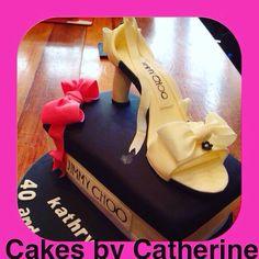 Designer shoe cake!