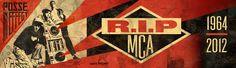 MCA Tribute Billboard bei Shepard Fairey / OBEY in Los Angeles.