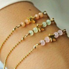 Bracelets – Page 4 – Finest Jewelry Diy Schmuck, Schmuck Design, Cute Bracelets, Jewelry Bracelets, Simple Bracelets, Necklaces, Bracelet Making, Jewelry Making, Beaded Jewelry