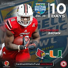 Louisville Football Countdown to the Russell Athletic Bowl