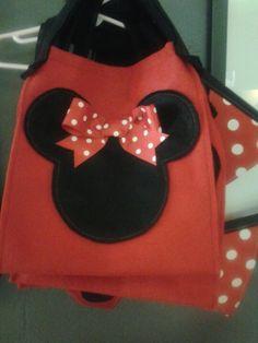 Minnie party favor bag