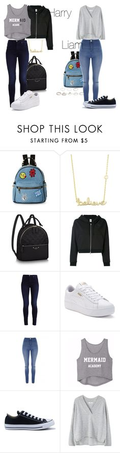 """Untitled #14"" by lisa-ferreira98 ❤ liked on Polyvore featuring IMoshion, Sydney Evan, NIKE, Puma, Jane Norman, Converse and MANGO"