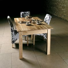 Mobel Solid Oak 150cm Dining Table (4/6 Seater) -  - Dining Table - Baumhaus - Space & Shape - 1