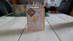 Dames kaart met glittersteentjes