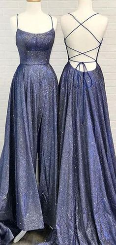 A-line Unique Backless Long Prom Dress Davy Blue Evening Dress,Deep v-neck sequins prom dresses.Prom Dresses Prom Dresses, A-line Unique Backless Long Prom Dress Davy Blue Evening Dress,Deep v-neck sequins prom dresses. Prom Dresses With Pockets, Pretty Prom Dresses, Blue Evening Dresses, Prom Dresses Blue, Cheap Prom Dresses, Beautiful Dresses, Homecoming Dresses Long, Backless Prom Dresses, Unique Dresses
