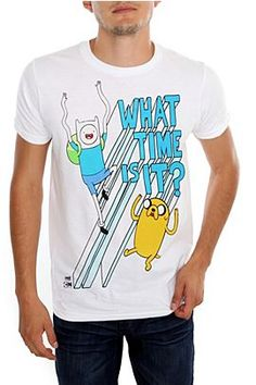 Adventure Time What Time Is It? T-Shirt  $19.50