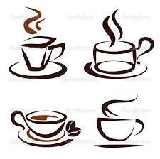 Vinilo Para cafeteria Con Dibujo Taza Caf Tazas Pinterest Y Cafeteras