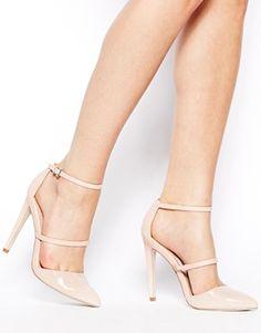 Vergrößern ASOS – POYNTER – Spitz zulaufende Schuhe mit hohem Absatz