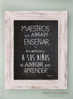 #Maestros Teachers' Day, Too Cool For School, Teacher Gifts, Special Gifts, Texts, Decoupage, Xmas, Teaching, Cool Stuff