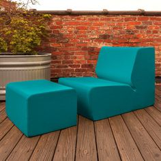 Playful, Colorful Outdoor Seats   (all Kinds Of Colors And Styles, Such As