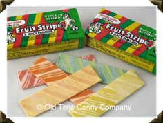 Fruit Stripe Gum was the best treat ever. Unfortunately the flavor only lasted for like 1 minute.