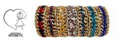 Découvrez les créations Mademoiselle Antoinette: les bracelets brésiliens revisités! www.midipile.com/melleantoinette