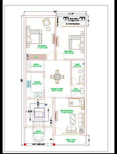 House Layout Plans, My House Plans, Family House Plans, House Layouts, Beautiful House Plans, Beautiful Homes, Plan Drawing, Floor Layout, Ground Floor Plan