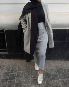 New Ideas : Todays outfit. samracollection fashion todays outfit hijab The post Todays Modest Fashion Hijab, Modern Hijab Fashion, Street Hijab Fashion, Hijab Fashion Inspiration, Muslim Fashion, Mode Inspiration, Look Fashion, Fashion Outfits, Fashion Ideas