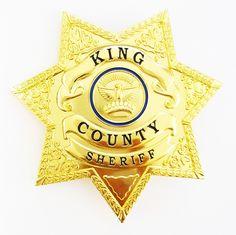 6b1b8408006 Rick Grimes - The Walking Dead King County Sheriff Badge