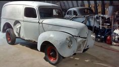 1940 Ford Panel Truck 1