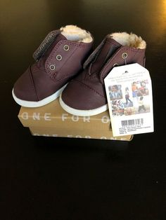 e7d7b9f2e5bc Toms Infant Size 5 Brown Leather Shoes  fashion  clothing  shoes   accessories