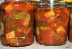 "Okurky naložené v rajčatovém pyré ""po italsku"" Salsa, Jar, Food, Eten, Jars, Meals, Salsa Music, Drinkware, Diet"
