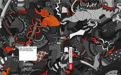 191 - Miquelrius Thai Demons by Joshua Davis, via Behance