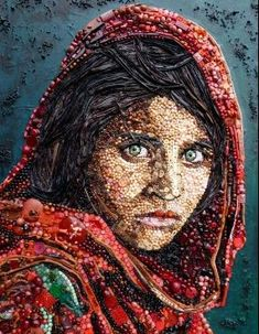 Amazing Bead and Found Object Art by Blue Bower Bird ~ The Beading Gem's Journal