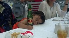 I Dont Always Drink Beer, But When I Do I prefer to pass out on my dads lap