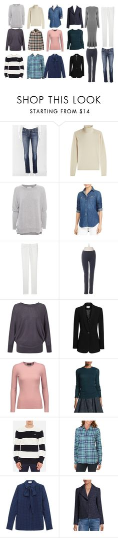 """""""My Core Winter Wardrobe"""" by angelwindsor ❤ liked on Polyvore featuring AG Adriano Goldschmied, IRIS VON ARNIM, Friendly Hunting, Ralph Lauren, Uniqlo, Hue, Jigsaw, Reiss, Theory and Maiyet"""
