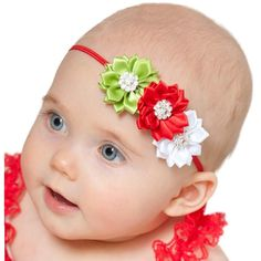 Christmas Headbands For Babies.16 Best Christmas Baby Headbands Images Baby Girl