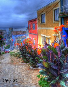 The colorful world of Templeman Street, Valparaiso. Chile, A Whole New World, Project 365, Open Up, Love Art, Dream Big, Interior And Exterior, Cool Photos, Most Beautiful
