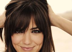 Top 10 Bang Hairstyles For All Types of Hair - Love this for next hair cut