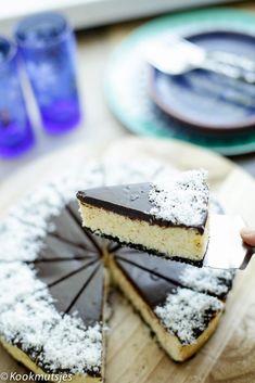 Bounty cheesecake   Kookmutsjes