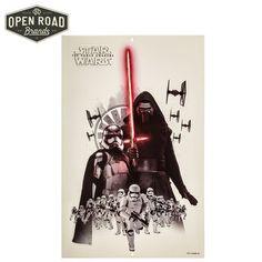 Star Wars Villains Metal Sign