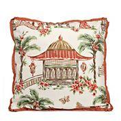Palace Garden Pagoda Pillow
