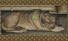 10.Antique Painting Puppy, Dog -Asian Art Print -Order-Made(BUY 2 GET 1 FREE!!!) #Handmade #Asian