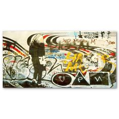 Find it at the Foundary - 30 in. Rogue Waves II Canvas Wrap