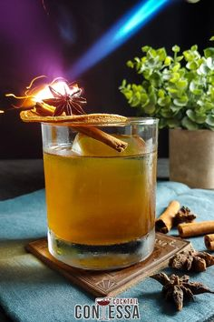 """Fall Rye Amaro Cocktail – But I'm Not Bitter. With the cooler weather upon us we are officially in whiskey season, and what better way to celebrate than a fall rye whiskey cocktail. While I love whiskey year-round, fall and winter are the seasons more people gravitate towards whiskey. I suspect it's that warm """"Kentucky Hug"""" you get with a great finish on a glass of whiskey.   @cocktailcontessa #craftcocktails #fallcocktails #ryecocktails #whiskeycocktails Amaro Cocktails, Fall Cocktails, Whiskey Cocktails, Craft Cocktails, Cocktail Drinks, Whiskey Sour, Rye Whiskey, Bourbon Whiskey, Make Simple Syrup"""
