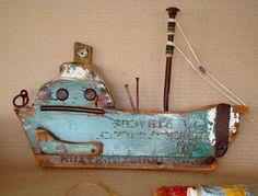 oil green-1 little ship