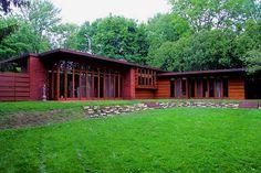 Herbert Jacobs House, Madison WI, Frank Lloyd Wright 1936