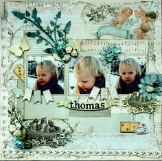 Bundle of Joy 'Thomas' Layout by Hilde Janbroers-Stolk