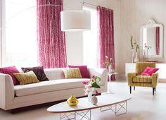 Lounge - Pink & Yellow