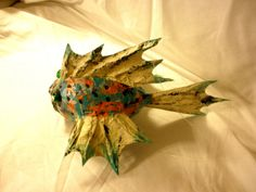 Paper Mache Fish | This could be addictive!