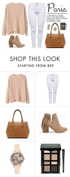 """Untitled #480"" by clarita-moreira ❤ liked on Polyvore featuring MANGO, New Directions, Nly Shoes, Olivia Burton, Bobbi Brown Cosmetics and Christian Dior"