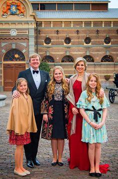 La Famille Royale Des Pays Bas À La Haye Le 29 Avril 2017 2