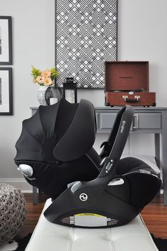 As a first-time mama, I have quite the list of must-haves when choosing baby products. Read my review of the CYBEX Cloud Q infant car seat. #cybex_global #cloudQsafe #partner